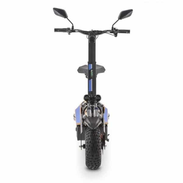 Ev Ultra Electric Scooter View 7 Blue Decal