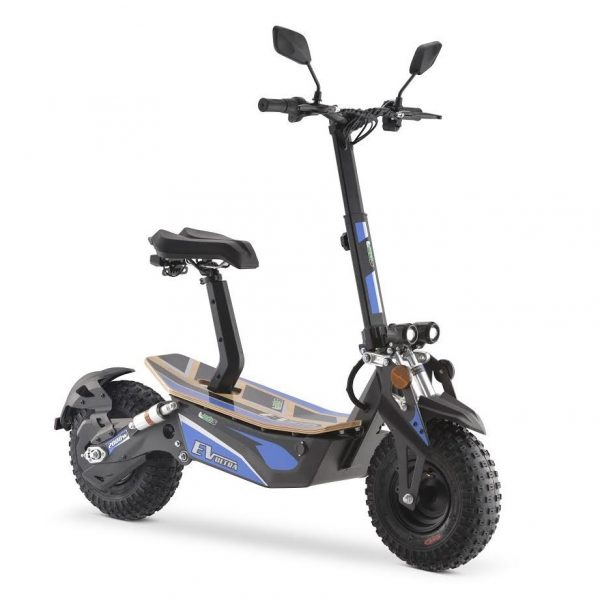 EV Ultra Pro Electric Scooter – Blue Decal 2000W 48V