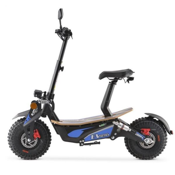 Ev Ultra Electric Scooter View 1 Blue
