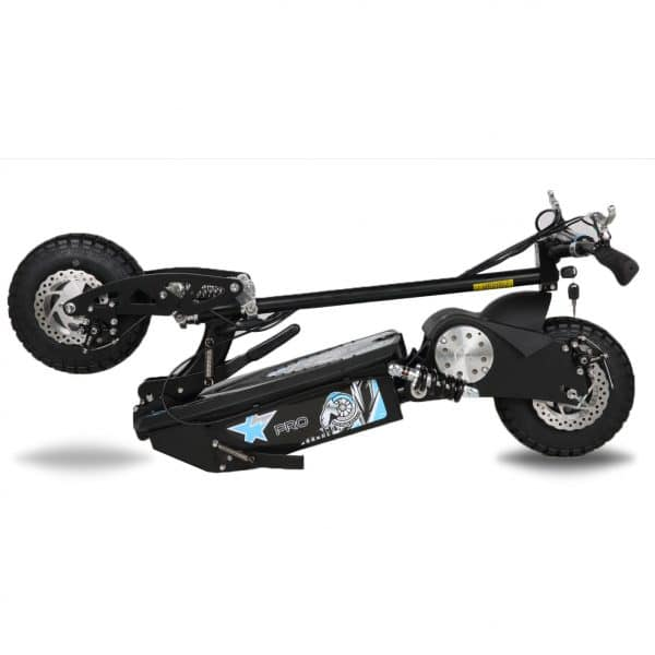 Electric Scooter pro folded