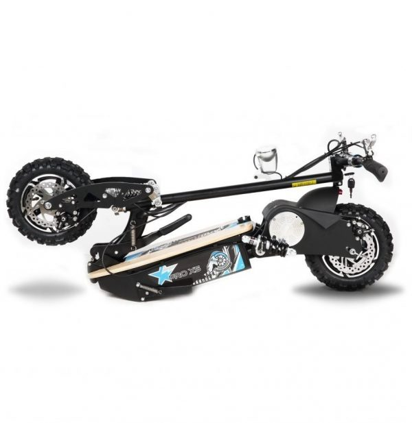 Electric scooter Pro XS folded black
