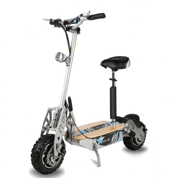 Electric scooter Silver 1600W 48V