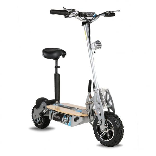 Pro XS Electric Scooter – Silver 1600W 48V