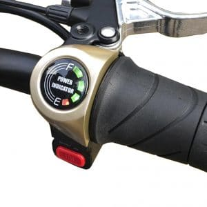 Power Indicator with sports button