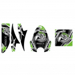 Pro X Series Green Decal Pack