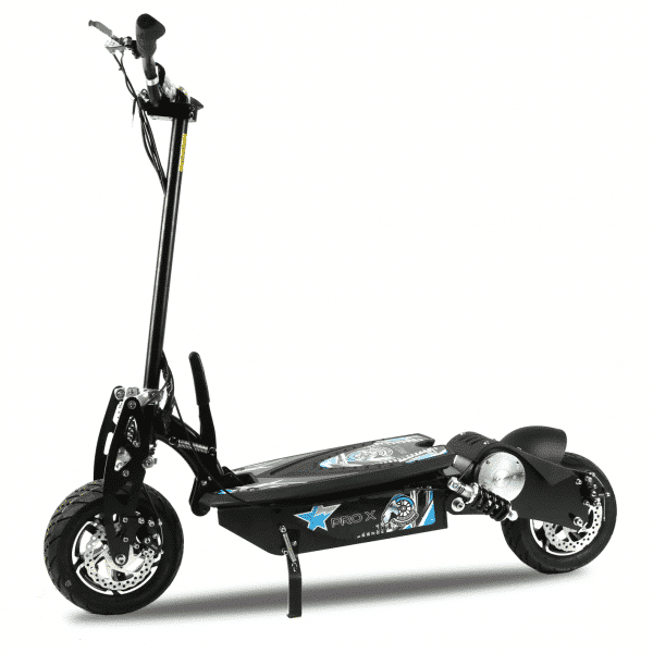Pro X 1600W 48V Electric Scooter Side View