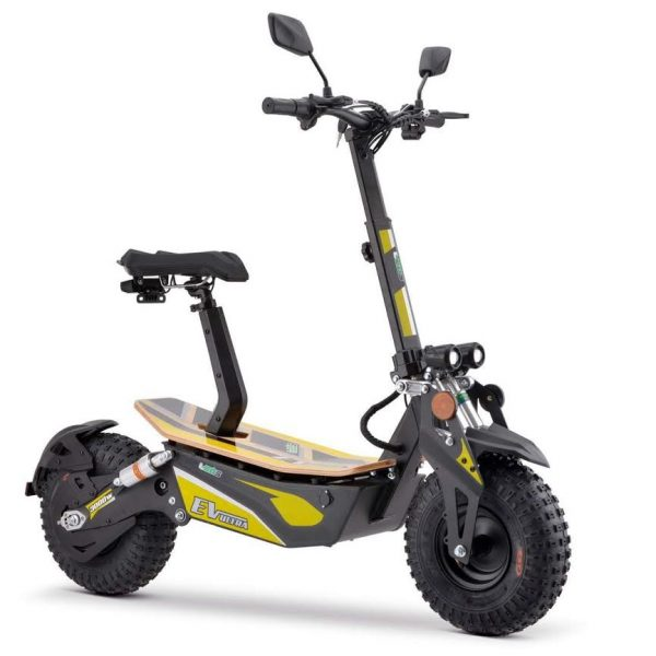 EV Ultra Pro Electric Scooter – Yellow Decal 3000W 48V
