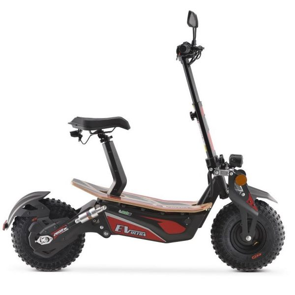 2000w Electric Scooter Red