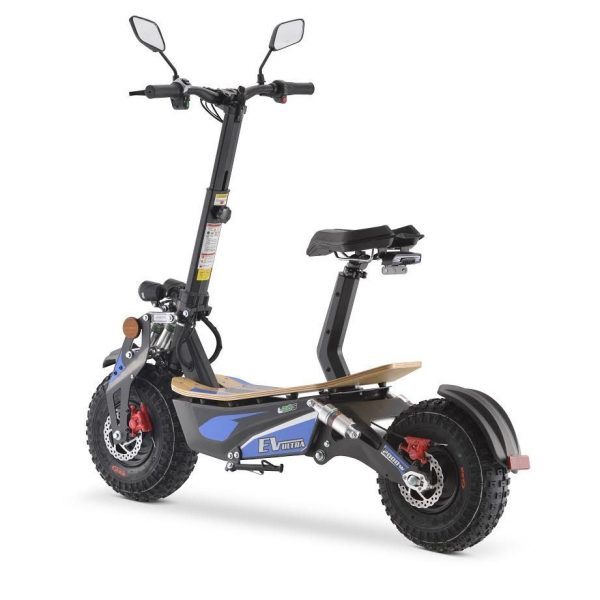 2000w Electric Scooter blue